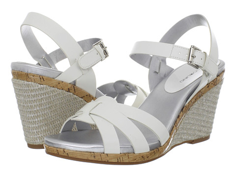 Bandolino - Sweet Thang (White) Women's Wedge Shoes