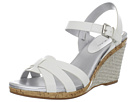 Bandolino Sweet Thang (White) Women's Wedge Shoes