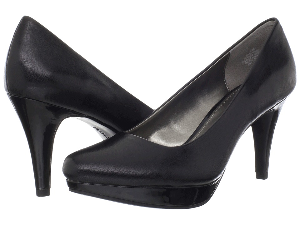 Bandolino Capture (Black Leather) High Heels