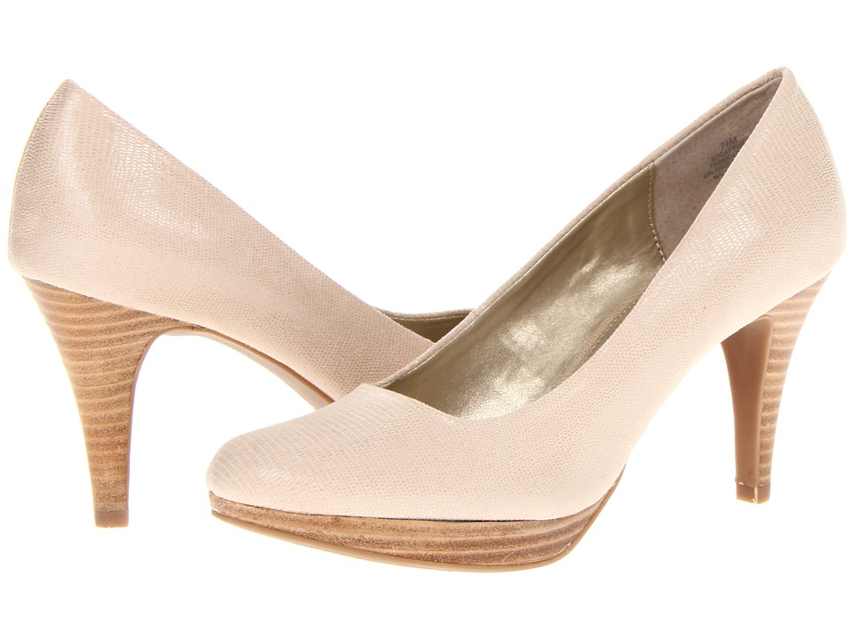 Bandolino - Capture 5 (Natural Fabric) High Heels