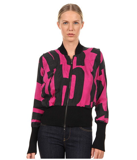 Vivienne Westwood Anglomania - Apache Bomber (Fuchsia/Black Anglo 1970) Women
