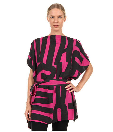 Vivienne Westwood Anglomania - Square Mile Tunic (Fuchsia/Black Anglo 1970) Women's Blouse