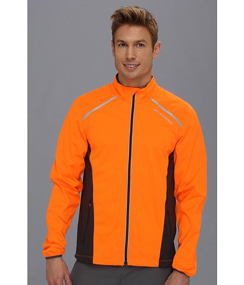 Brooks - Infiniti Jacket IV (Brite Orange/Anthracite) Men's Jacket