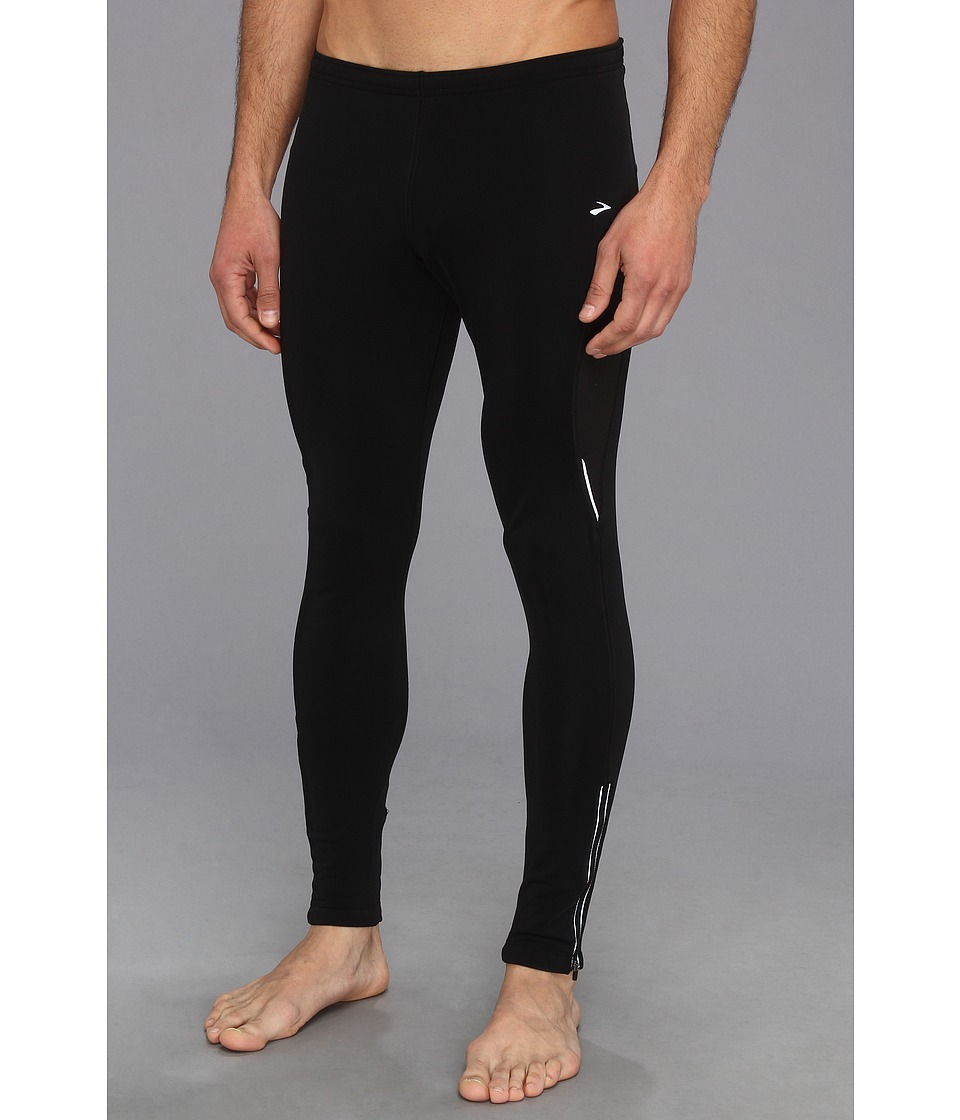 Brooks - Utopia Thermal Tight II (Black) Men's Workout