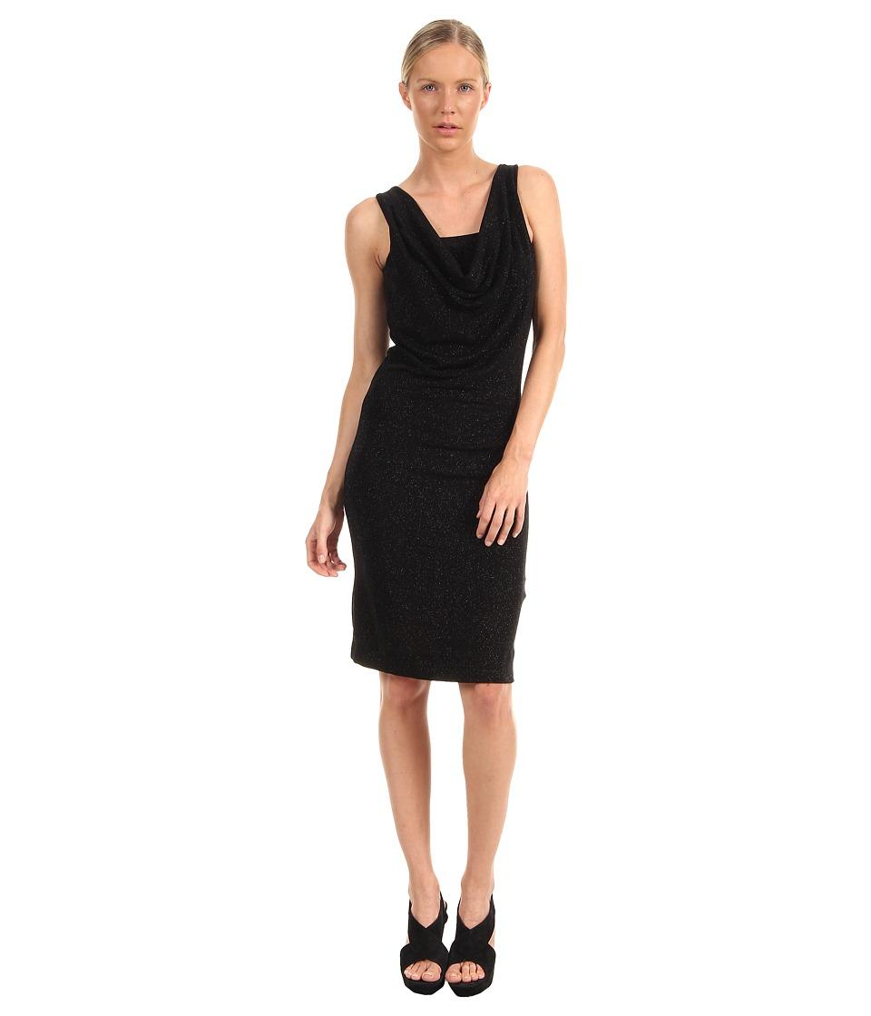 Vivienne Westwood - Hopihoya Dress (Black/Anthracite Glitter) Women's Dress