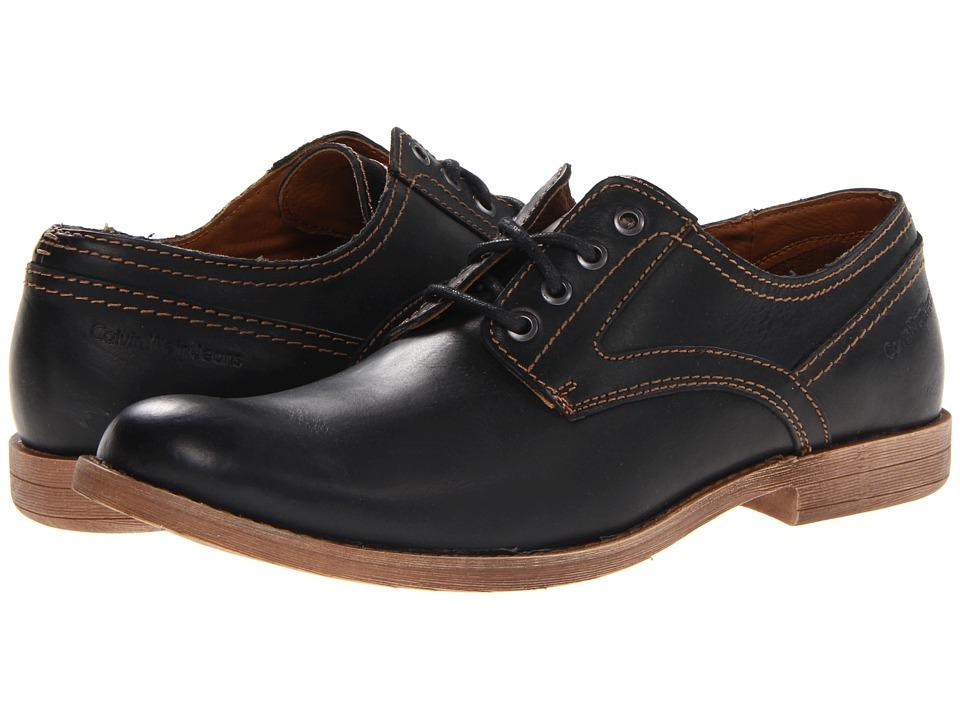 Calvin Klein Jeans - Parry (Black) Men's Lace up casual Shoes
