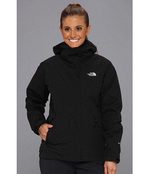The North Face - Boundary Osito Triclimate Jacket (TNF Black/TNF Black/TNF Black) Women's Coat