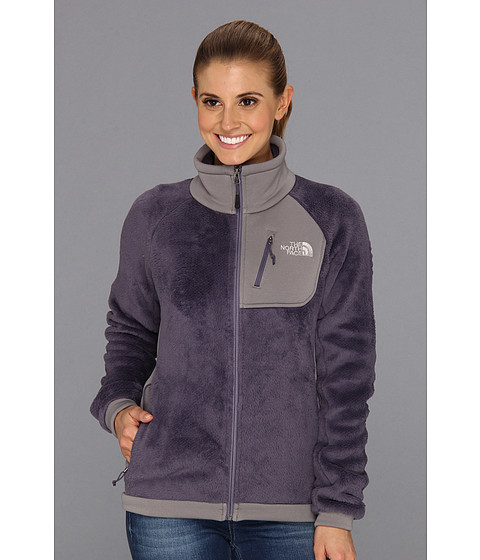The North Face Grizzly Jacket (Greystone Blue/Pache Grey) Women's Jacket
