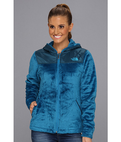 The North Face Oso Hoodie (Brillant Blue/Prussian Blue) Women's Jacket