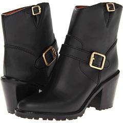 Marc by Marc Jacobs Heavy Calf Heel Boot (Black) Footwear