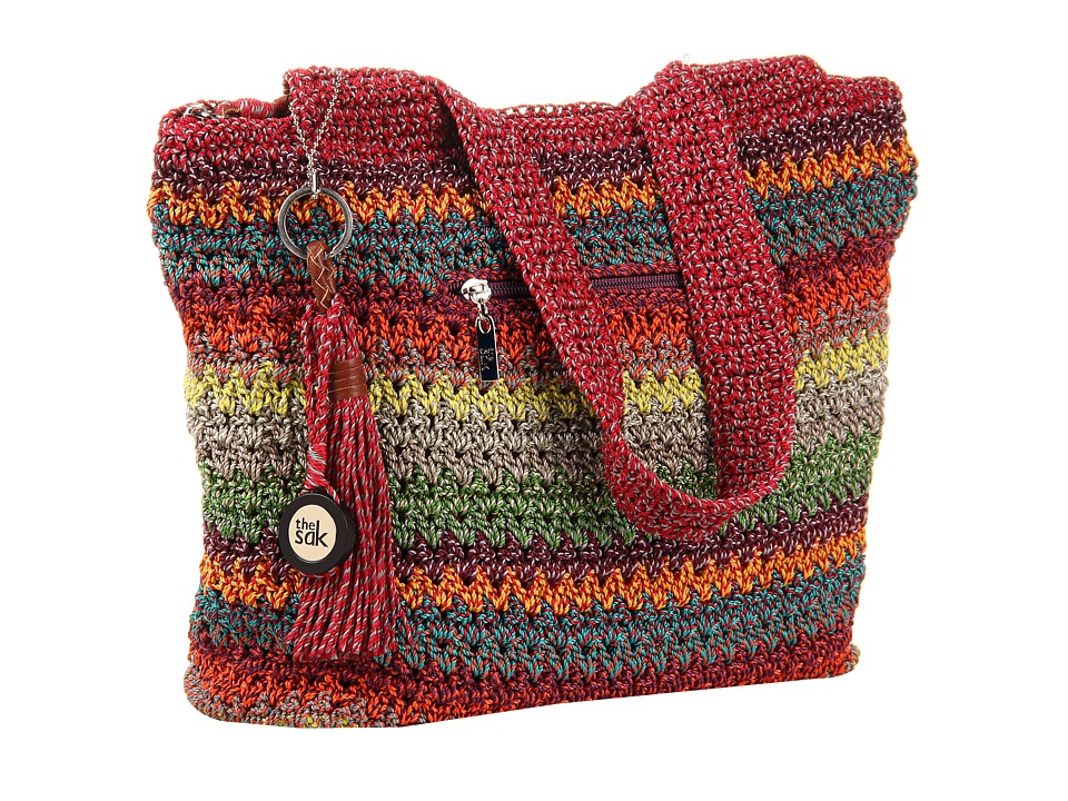 The Sak - Casual Classics Large Tote (Gypsy Stripe) Tote Handbags