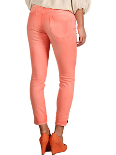 SALE! $17 - Save $51 on Free People Herringbone Cropped Skinny Jean (Tomato) Apparel - 75.00% OFF $68.00