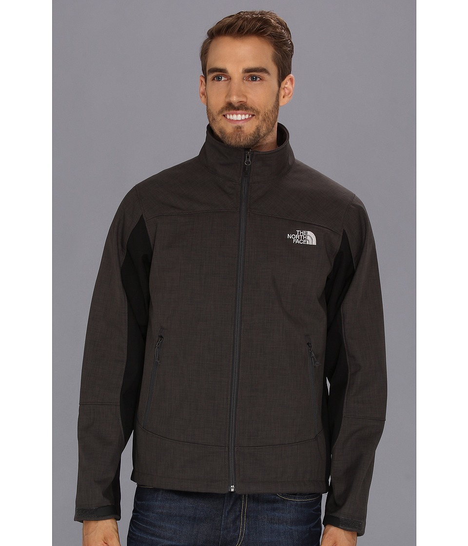 The North Face - Chromium Thermal Jacket (Asphalt Grey Heather/TNF Black) Men's Coat
