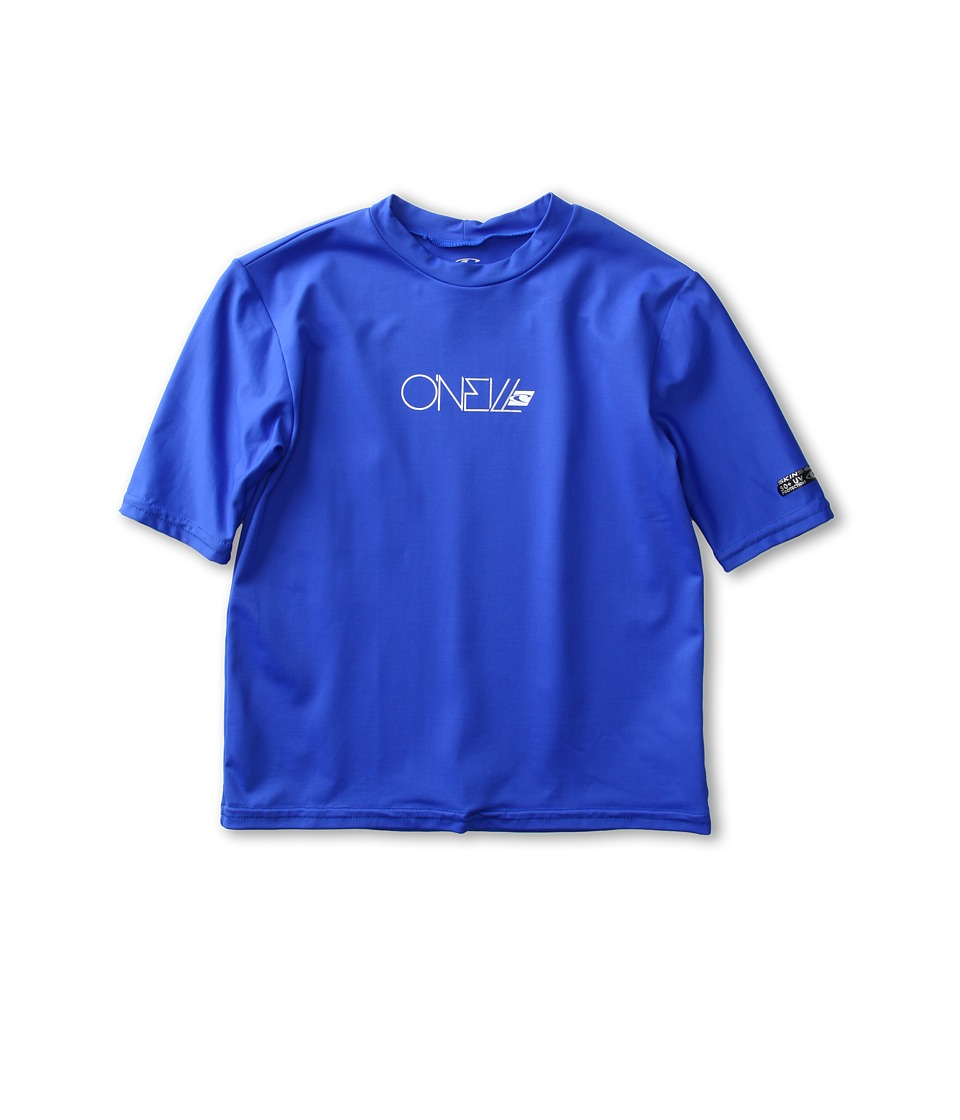 O'Neill Kids - Skins S/S Rash Tee (Little Kids/Big Kids) (Pacific) Kid's Swimwear