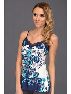 SALE! $14.99 - Save $30 on P.J. Salvage Blue Lagoon Sleep Cami (Navy) Apparel - 66.69% OFF $45.00