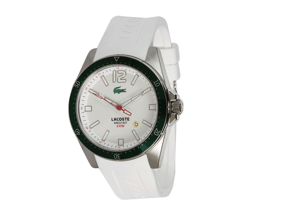 Lacoste - SEATTLE 2010664 (Integrated White) Analog Watches