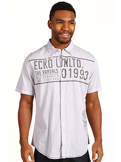 SALE! $19.25 - Save $25 on Ecko Unltd Kings S S Woven (Grey Heather) Apparel - 56.74% OFF $44.50