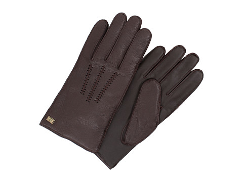 UGG - Wrangell Smart Glove w/ Conductive Palm (Brown) Extreme Cold Weather Gloves