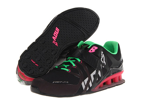 inov-8 - FastLift 315 (Black/Pink/Green) Women's Running Shoes