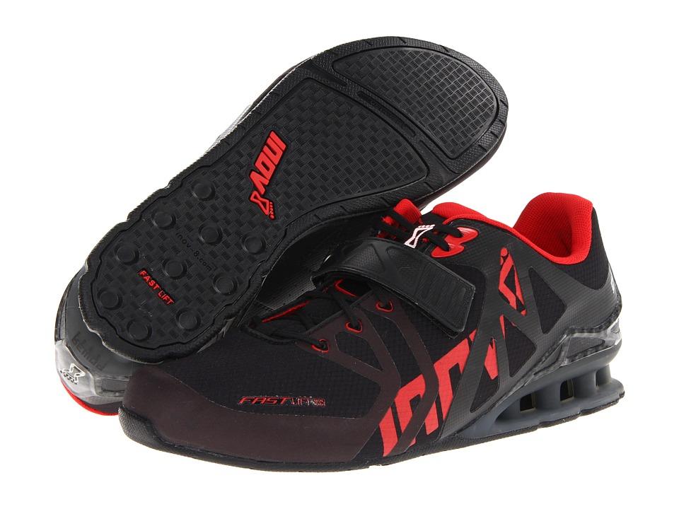 inov-8 - FastLift 335 (Black/Red/Carbon) Men's Running Shoes