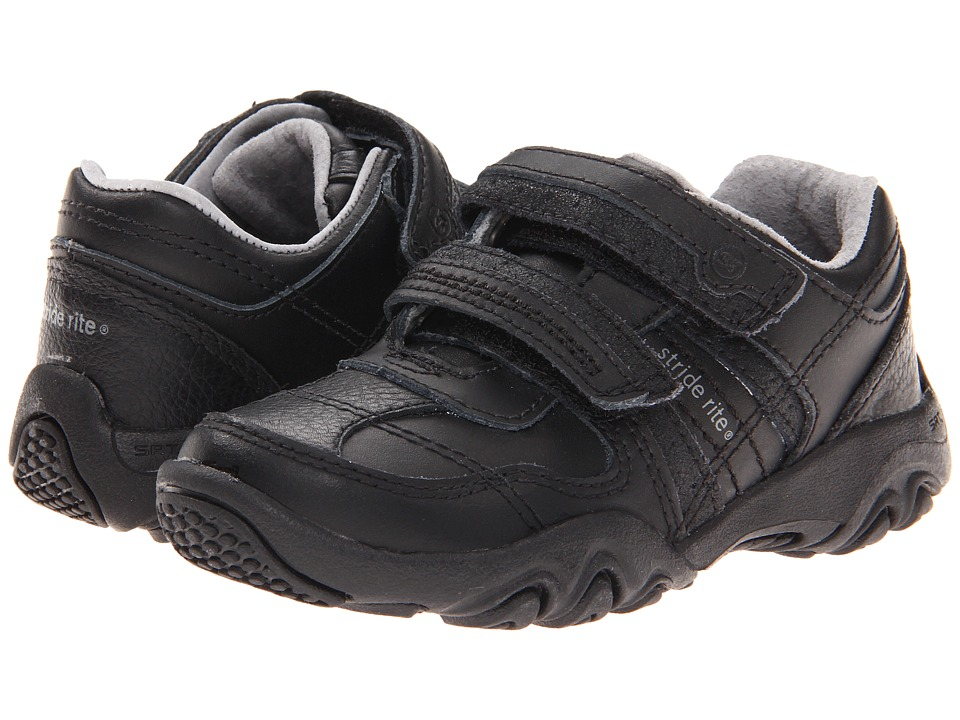 Stride Rite - SRT PS Zeke (Toddler/Little Kid) (Black) Boys Shoes