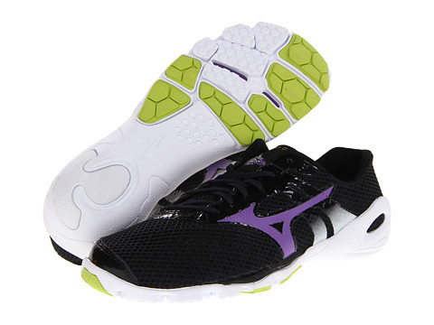 Mizuno - Wave EVO Levitas (Anthracite/Amethyst Orchid/White) Women's Running Shoes