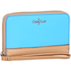 SALE! $54.99 - Save $43 on Cole Haan Electronic Zip Wristlet (Blue Topaz Sandstone) Bags and Luggage - 43.89% OFF $98.00