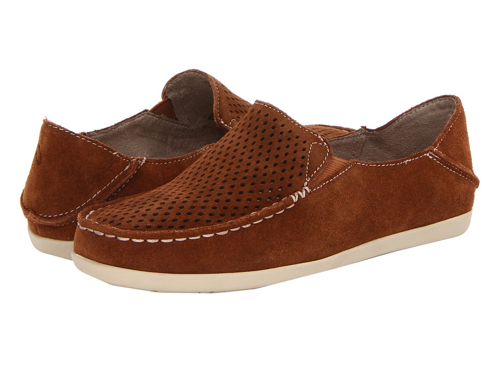 OluKai - Nohea Perf W (Toffee/Tap) Women's Slip on Shoes