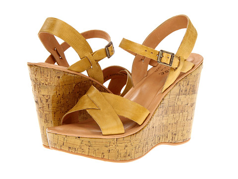 Kork-Ease - Bette 2 (Yellow Patent) Women