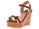 Ella Moss Ryann (Luggage) Women's Wedge Shoes