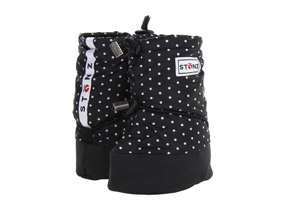 Stonz Baby Booties (Toddler) (Polka Dot/Black/White) Girls Shoes