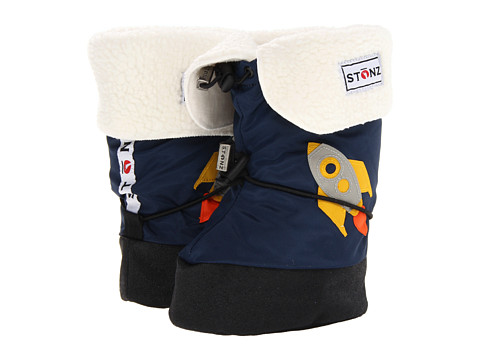 Stonz - Baby Booties Linerz (Toddler) (Rocket/Navy Blue) Boy