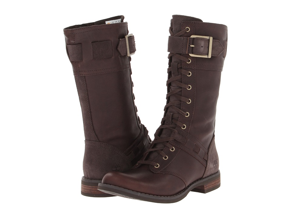 Timberland Earthkeepers(r) Savin Hill Mid Boot (Dark Brown Forty Leather) Women