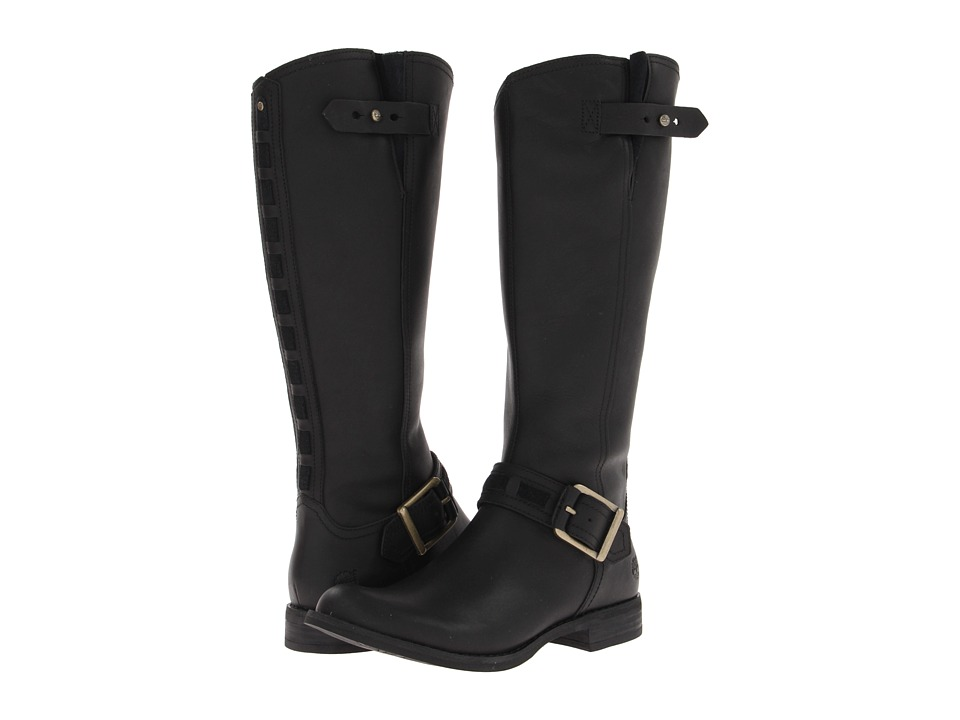 Timberland - Earthkeepers Savin Hill Tall Boot (Black Forty Leather) Women's Boots