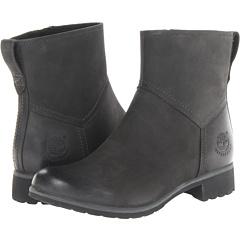 Timberland Earthkeeeprs Putnam Zip Boot (Black Nubuck) Footwear