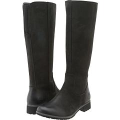 Timberland Earthkeeeprs Putnam Tall Boot (Black Nubuck) Footwear