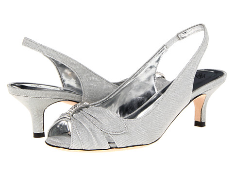 J. Renee - Slader (Silver) Women's Sling Back Shoes