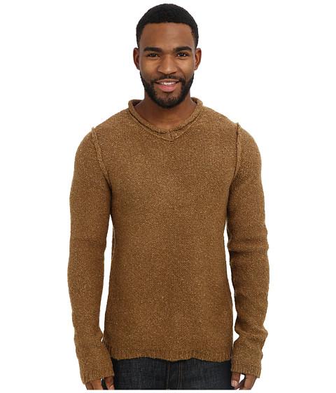 Royal Robbins - Scotia V-Neck Sweater (Macchiato) Men