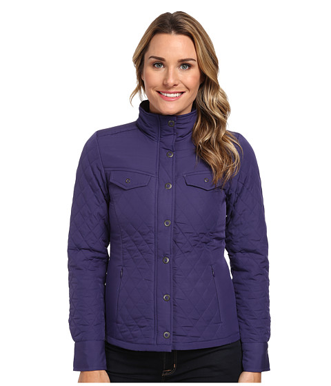 Royal Robbins - Annie Shirt Jacket (Dark Lavender) Women's Coat