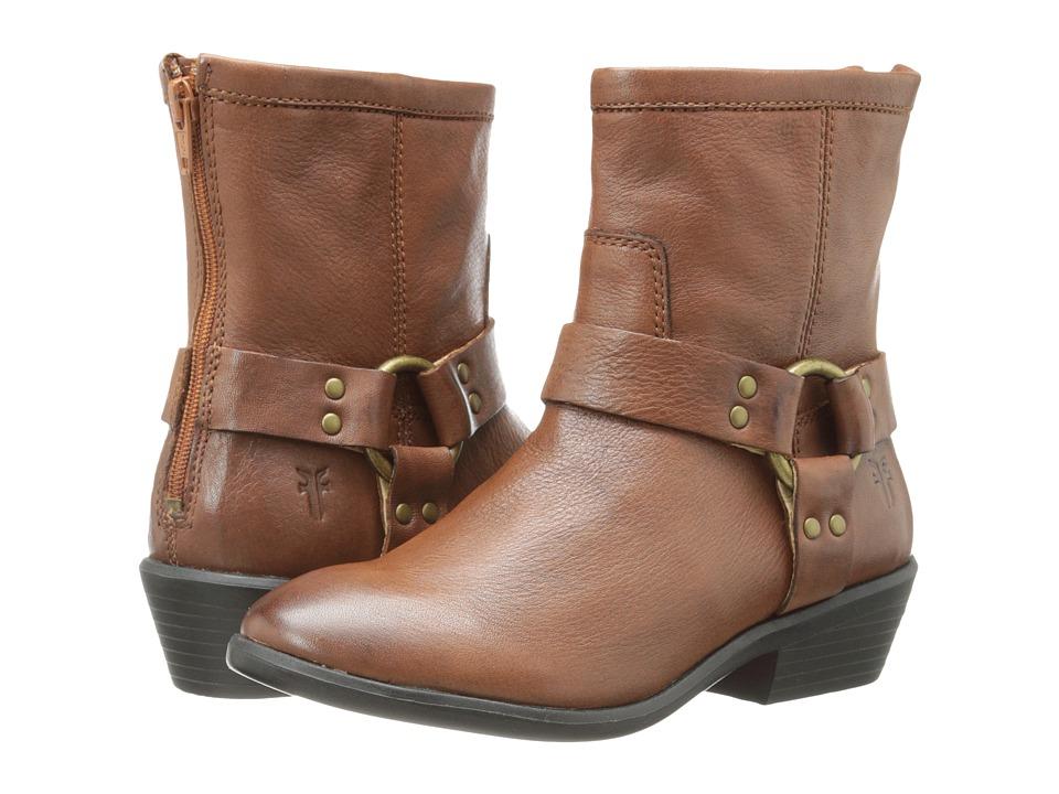 Frye Kids - Phillip Harness Short Boot (Little Kid/Big Kid) (Light Tan) Girls Shoes