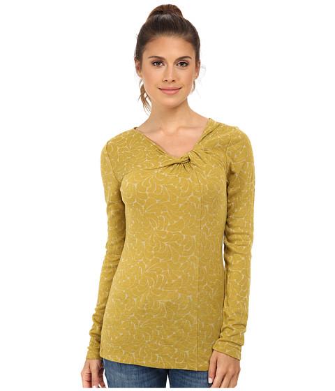 Royal Robbins - Rain Drop Twist Neck L/S Top (Thistle Green) Women's Long Sleeve Pullover