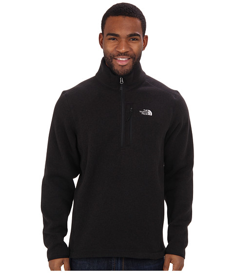 The North Face - Gordon Lyons 1/4 Zip (TNF Black) Men's Long Sleeve Pullover