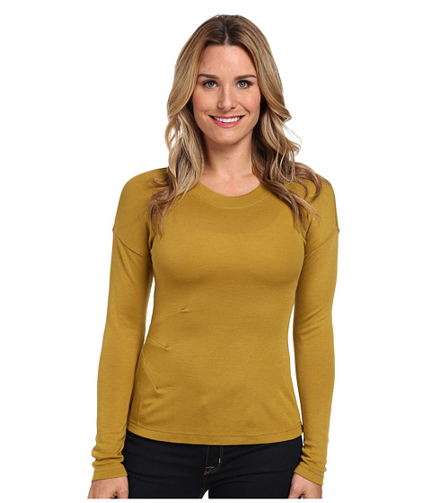 Royal Robbins - Enroute L/S Crew (Thistle Green) Women