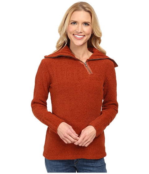 Royal Robbins - Chenille Cowl Neck Sweater (Dark Pumpkin Spice) Women
