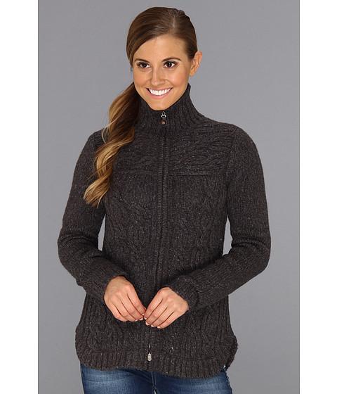 Royal Robbins - Helium Zip Cardigan (Charcoal) Women's Sweater
