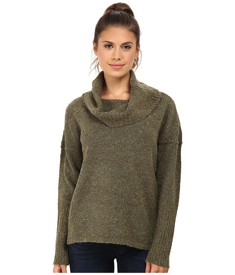 Royal Robbins - Napa Boucl Pullover Sweater (Dark Clover) Women's Sweater
