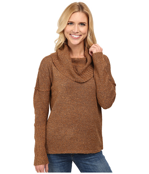 Royal Robbins - Napa Boucl Pullover Sweater (Cinnamon Stick) Women