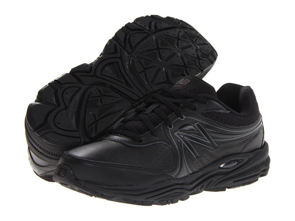 New Balance - WW840 (Black) Women's Walking Shoes
