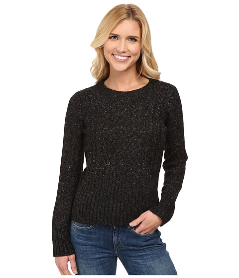 Royal Robbins - Elena L/S Crew Sweater (Charcoal) Women's Sweater