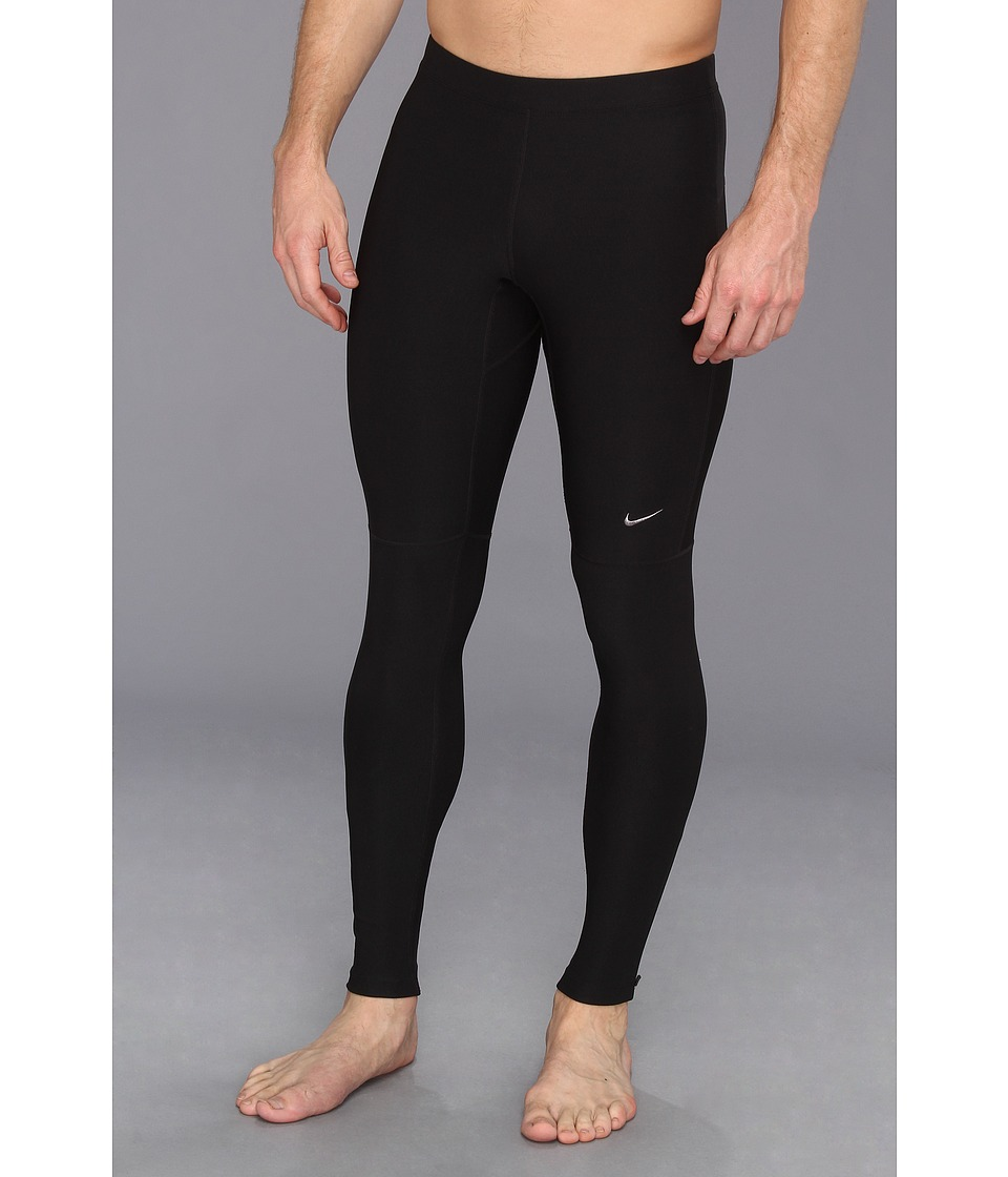 Nike - Filament Tight (Black/Black) Men's Workout